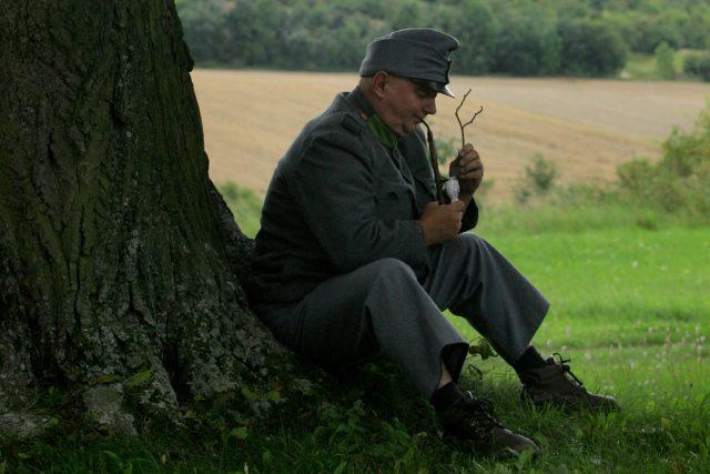 Přemysl Kubišta jako Josef Švejk