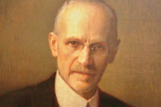 Portrét Emila Kolbena od Adolfa Wiesnera