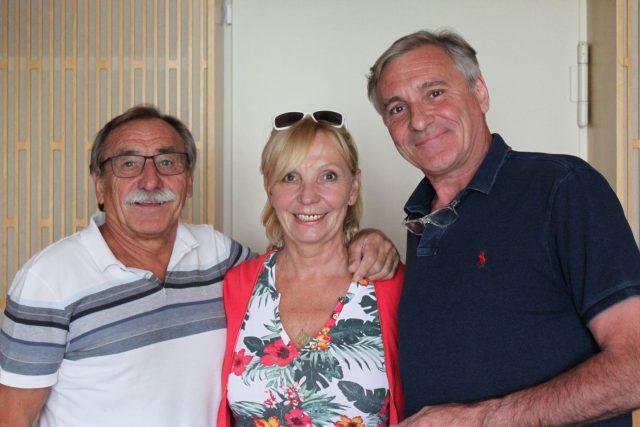 Pavel Zedníček,  Hana Kousalová a Jan Čenský | foto: Elena Horálková,  Český rozhlas