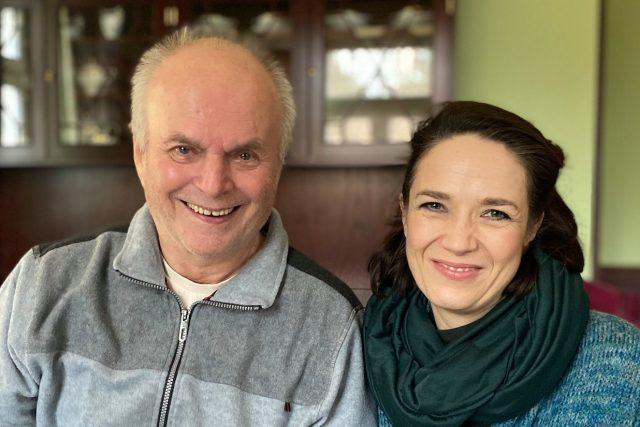Alfréd Strejček a Tereza Kostková