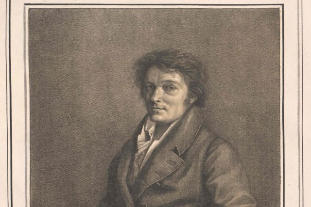 Alois Senefelder | foto: Lorenzo Quaglio the Younger,  Wikimedia Commons,  CC0 1.0