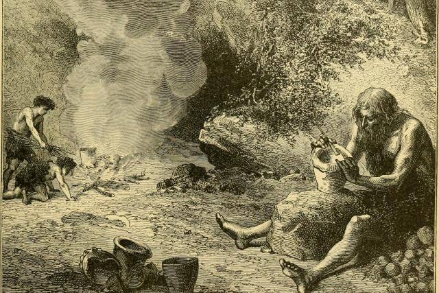 Výroba hliněných nádob v pravěku