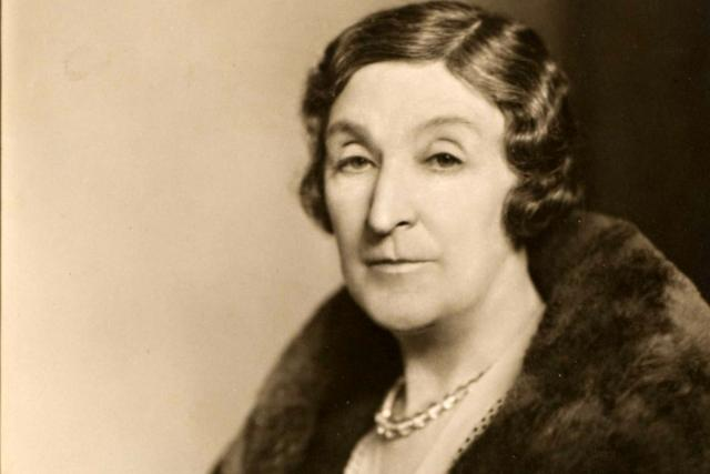 Starší dáma, 20. léta (ilustrační snímek)