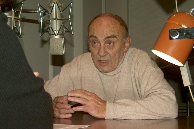 Ladislav Lakomý ve studiu Českého rozhlasu Brno   foto: Český rozhlas Brno