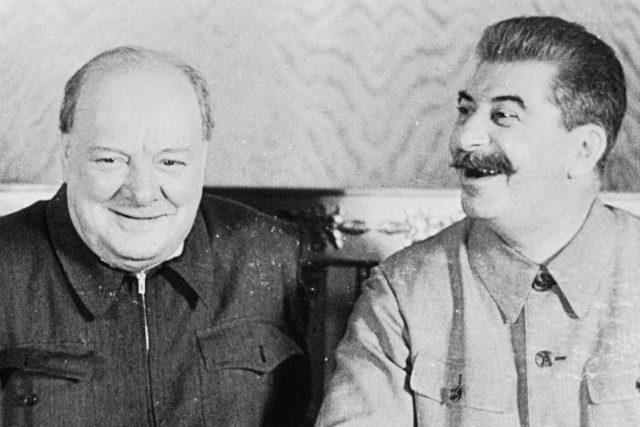 Sir Winston Churchill získal Nobelovu cenu za literaturu,  připomíná Jiří Hlaváč   foto: Imperial War Museum London