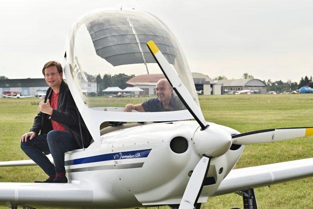 Den Letiště Letňany: z akce se vysílal i Tobogan Aleše Cibulky