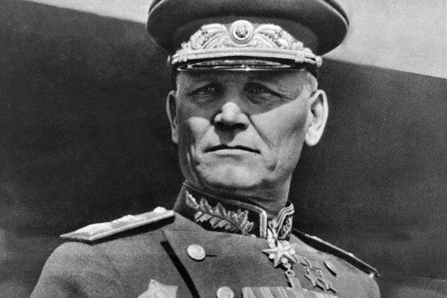 Maršál Ivan Stěpanovič Koněv (červen 1945)