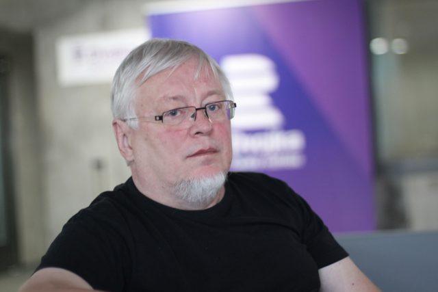 Pavel Kosatík | foto: Elena Horálková,  Český rozhlas