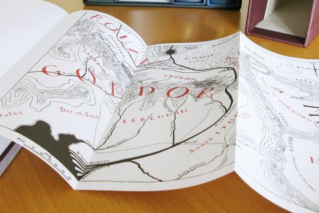 Mapa vytvořená Christopherem Tolkienem | foto: Flickr - Robert,  CC BY 2.0