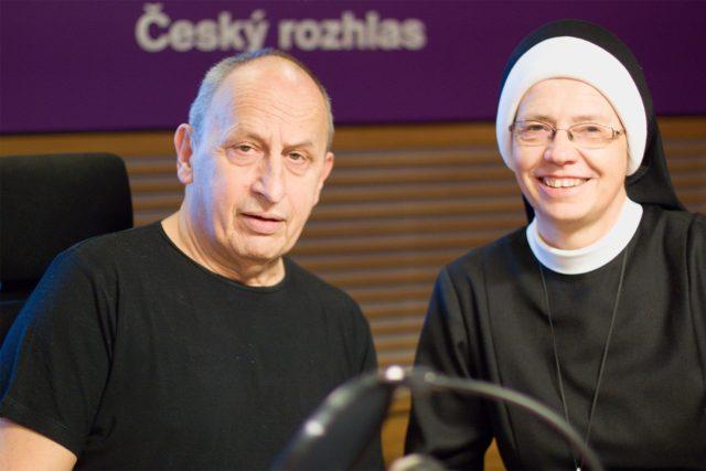 Jan Kraus a sestra Angelika | foto: Elena Horálková,  Český rozhlas