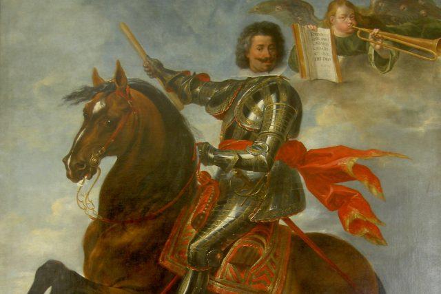 Karel Bonaventura,  hrabě Buquoy,  byl velitel císařských vojsk na počátku třicetileté války | foto: Peter Snayers,  Wikimedia Commons,  CC0 1.0