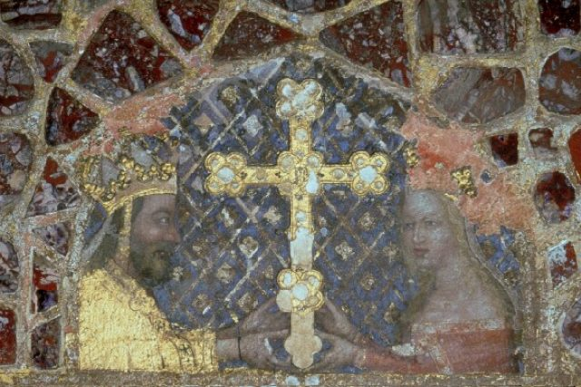 Karel IV. a Anna Svídnická | foto: Europeana Collections,  CC BY-NC-ND 3.0