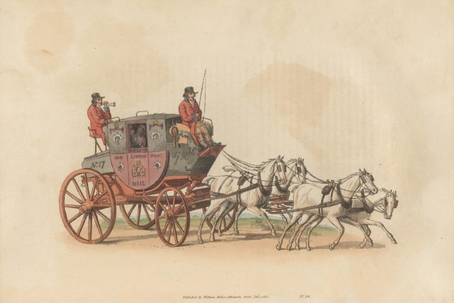 Poštovní dostavník | foto: Wikimedia Commons,  CC0 1.0