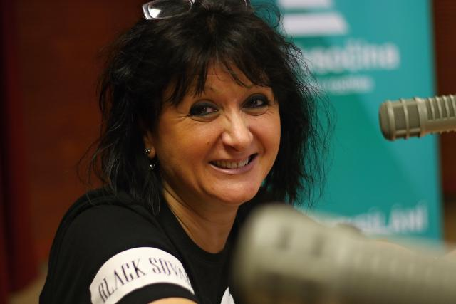 Ivana Lelkesová   foto: Milan Kopecký,  Český rozhlas