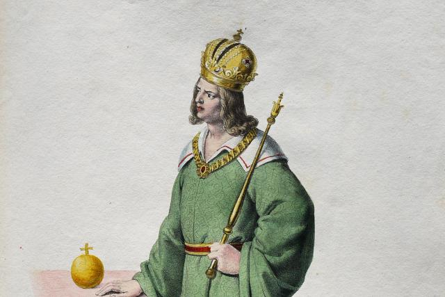 Albrecht II. Habsburský | foto: Josef Kriehuber,  Wikimedia Commons,  CC0 1.0