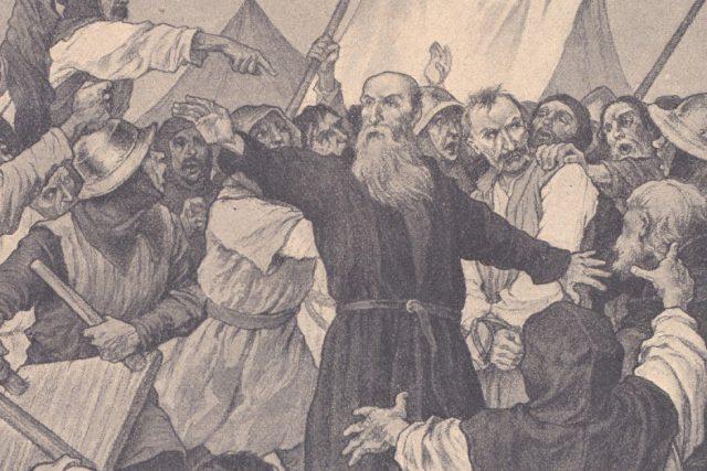 Prokop Holý před Plzní | foto: Věnceslav Černý,  Wikimedia Commons,  CC0 1.0