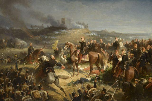 Napoleon III. v bitvě u Solferina | foto: Wikimedia Commons,  CC0 1.0
