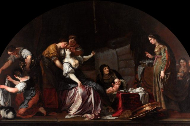 Narození svatého Václava | foto: Karel Škréta,  Wikimedia Commons,  CC0 1.0