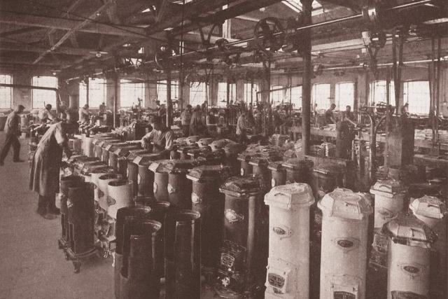 Slavná kamna Meteor se začala vyrábět v roce 1902