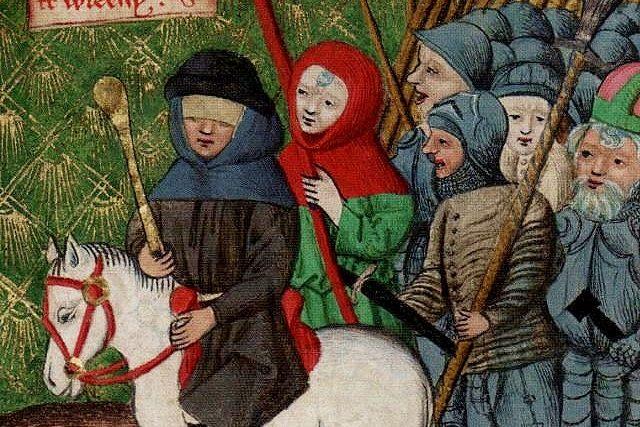 Jan Žižka v čele husitského vojska,  Jenský kodex | foto: Wikimedia Commons,  CC0 1.0