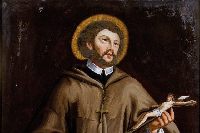 Svatý Jan Nepomucký na obraze z 18. století | foto: autor neznámý,  Wikimedia Commons,  Dr. Fischer Kunstauktionen,  CC0 1.0