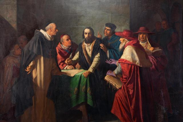 Antonín Lhota: Zástupce koncilu u mistra Jeronýma Pražského | foto: Antonín Lhota,  Wikimedia Commons,  Galerie hlavního města Prahy,  CC0 1.0