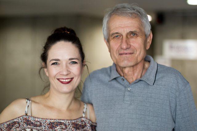 Tereza Kosktová a Jiří Raboch