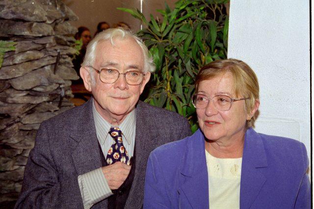 Josef Škvorecký a Zdena Salivarová (2001)