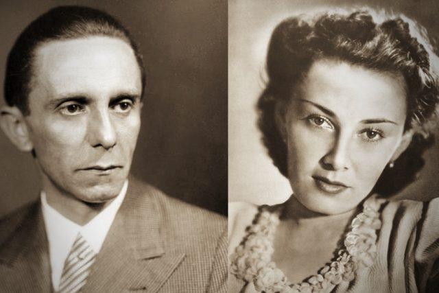 Joseph Goebbels a Lída Baarová | foto: Heinrich Hoffmann,  Bundesarchiv,  Bild 146-1968-101-20A,  Profimedia,  CC BY-SA 3.0