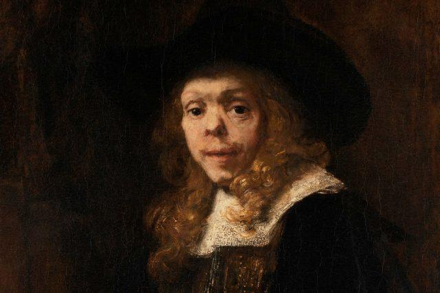 Portrét Gerarda de Lairesse,  muže,  který trpěl syfilidou | foto:  Rembrandt,  The Metropolitan Museum of Art,  CC0 1.0
