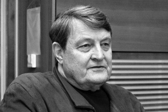 Ladislav Štaidl ve studiu Dvojky | foto: Adam Kebrt,  Český rozhlas,  Český rozhlas