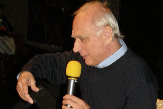 Herec Ladislav Županič vypráví | foto: Yvona Žertová,  Český rozhlas