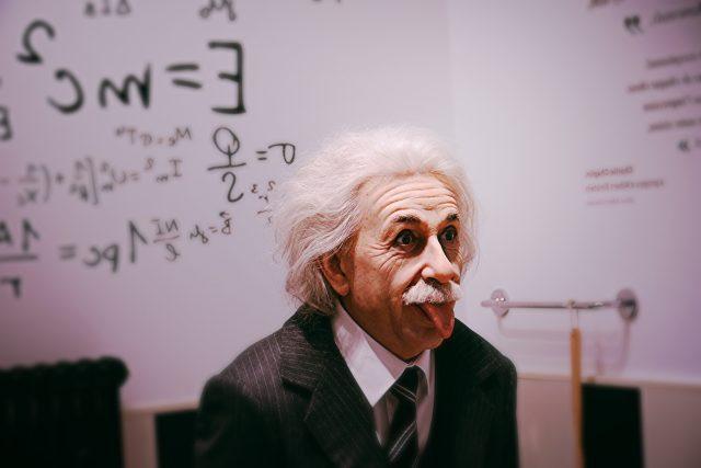 Albert Einstein   foto: Raghav Modi,  Fotobanka Unsplash