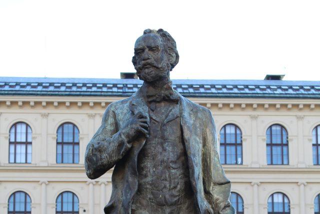 Socha Antonína Dvořáka v Praze | foto: Wikimedia Commons,  CC0 1.0