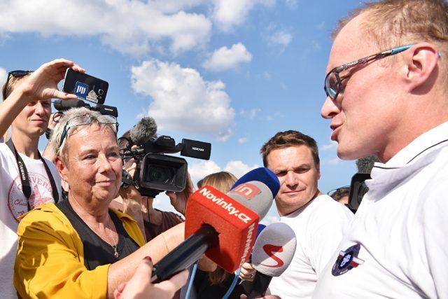 Roman Kramařík se stal terčem novinářů
