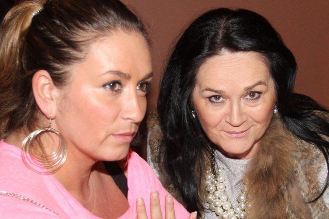 Rola Brzobohatá s matkou Hanou Gregorovou