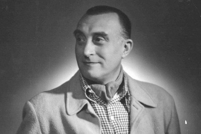 Oldřich Nový na civilním snímku ze 40. let