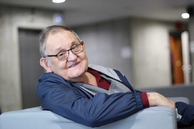 komentátor Petr Nováček