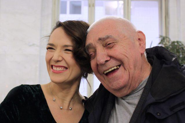 Tereza Kostková a Radkin Honzák