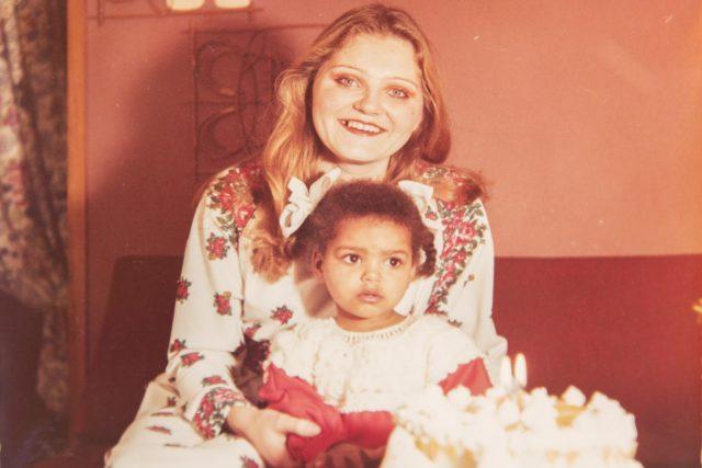 Natálie s matkou Elenou