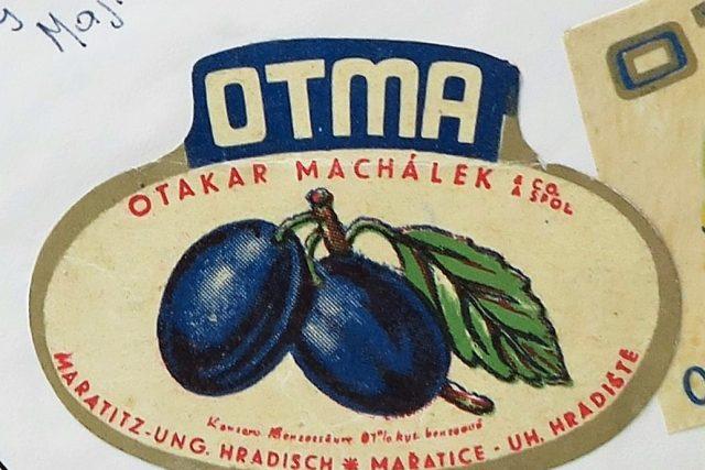 Firmě Otma dal Otakar Machálek název podle počátečních písmen svého jména | foto: Orkla Foods Česko a Slovensko