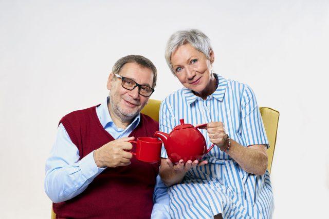 Tváře stanice,  herci Tomáš Töpfer a Dana Syslová | foto: Marie  Votavová