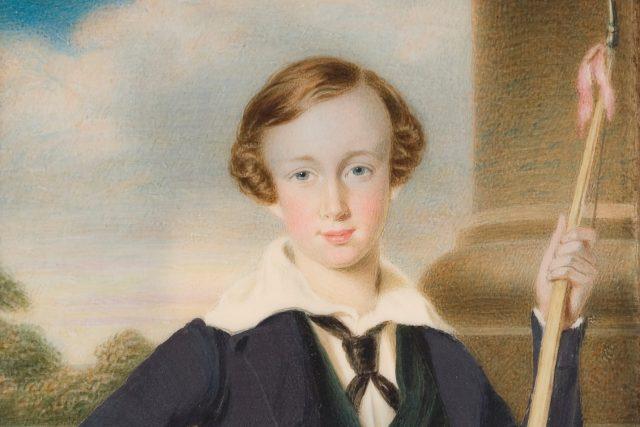 František Josef I v dětských letech,  okolo roku 1840.   foto: Wikimedia Commons,  CC0 1.0
