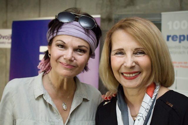 Simona Postlerová a Stanislava Lekešová