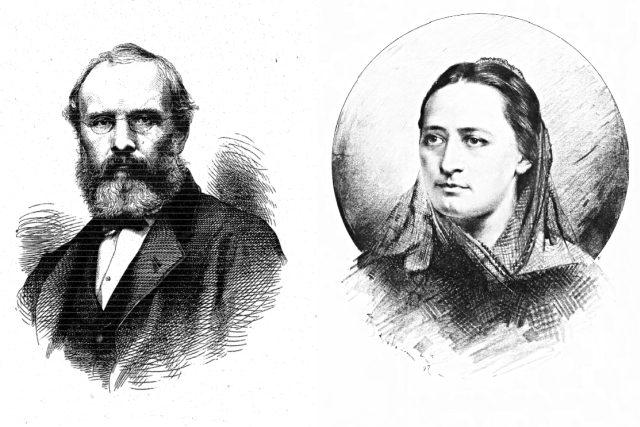Jan Helcelet a Božena Němcová