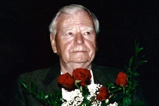 Karel Weinlich v květnu 2005 | foto: Archivní a programové fondy Českého rozhlasu