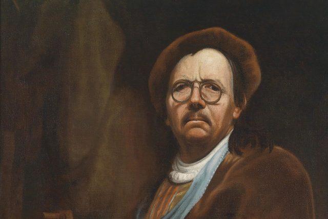 Jan Kupecký, autoportrét se šachovnicí