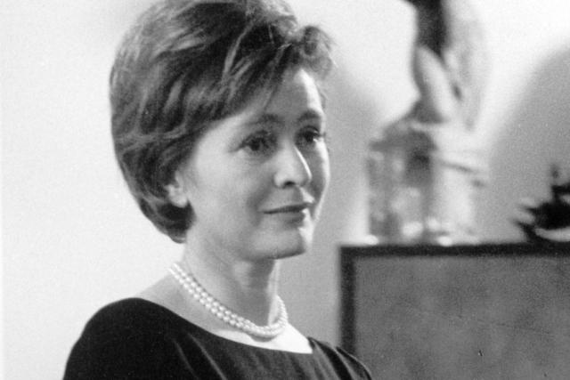 Slávka Peroutková v New Yorku v roce 1966