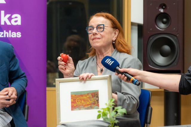 Iva Janžurová v Toboganu   foto: Khalil Baalbaki,  Český rozhlas