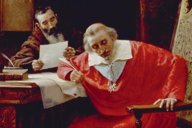 François Leclerc du Tremblay a kardinál Richelieu